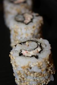 Inside-out med surimi-mousse