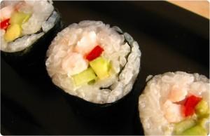 Sushi – makiruller