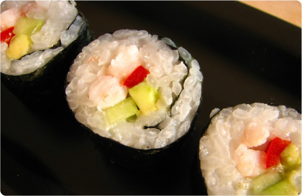 Sushi - makiruller