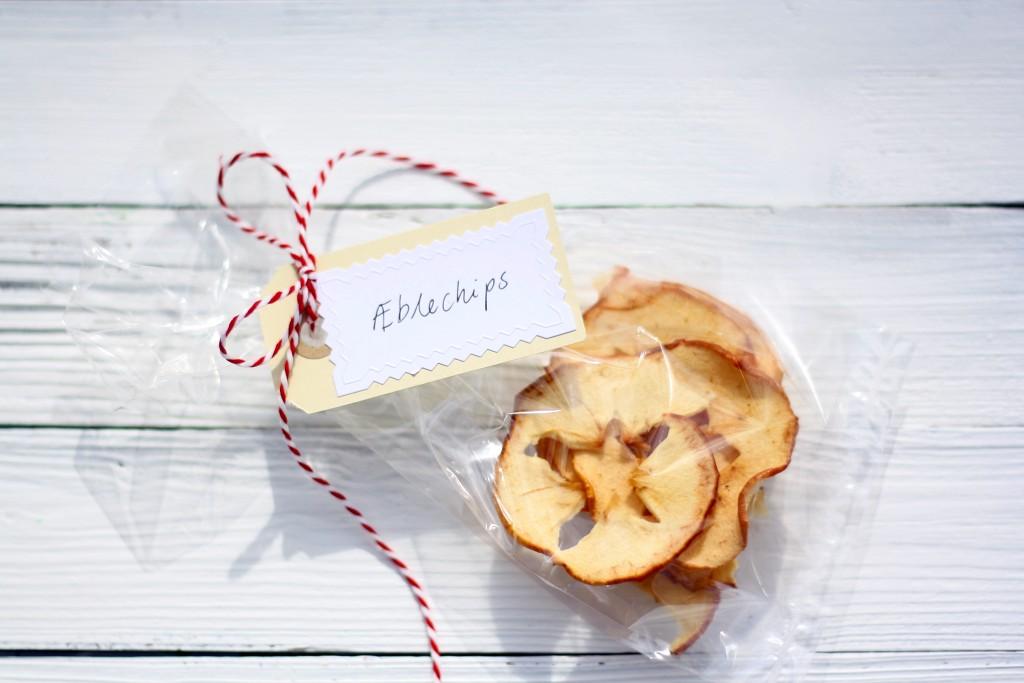Hjemmelavede æblechips