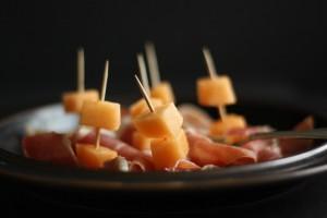 Melon i parmakåbe