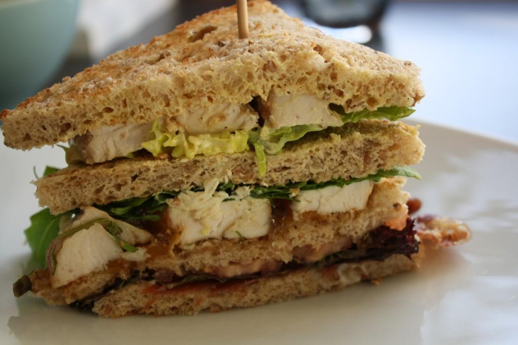 Hjemmelavet clubsandwich