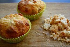 Sprøde og søde makronmuffins