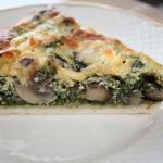 Spinattærte med svampe og feta (2)