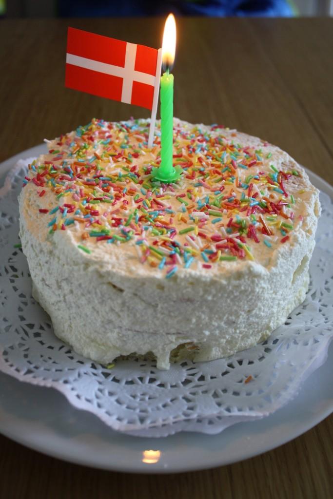Lagkage til 1- års børnefødselsdag