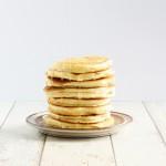 Amerikanske pandekager Vandret