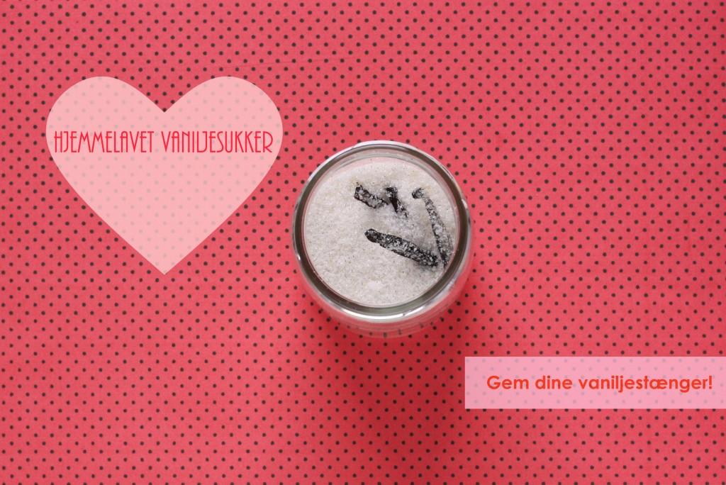Hjemmelavet vaniljesukker