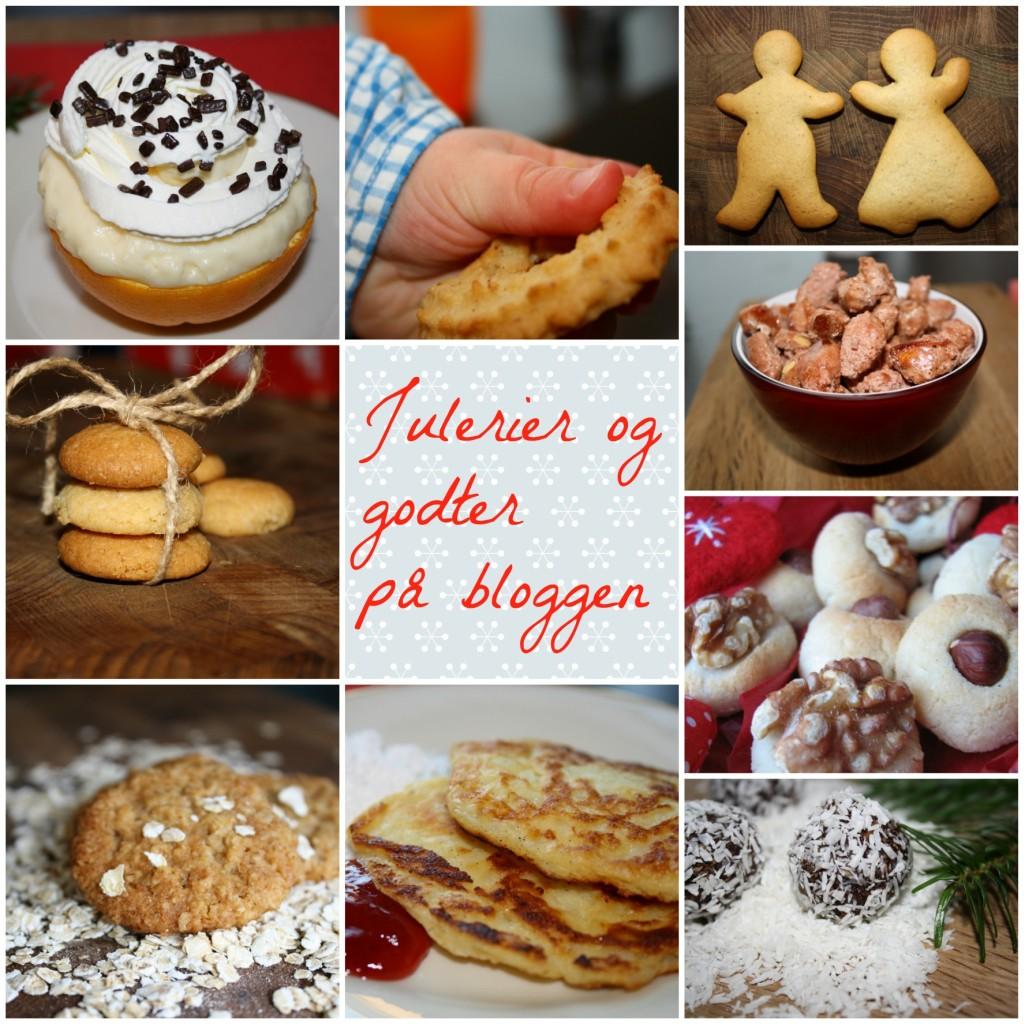 Julerier og godter på bloggen