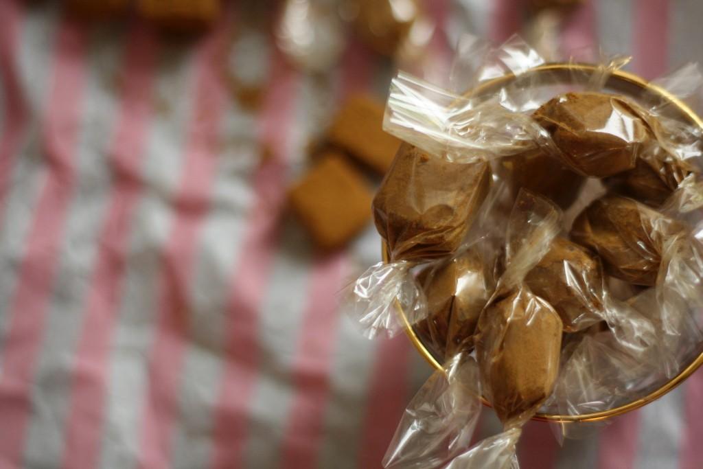 Flødekarameller med lakrids
