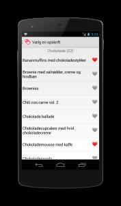 App til Android telefoner
