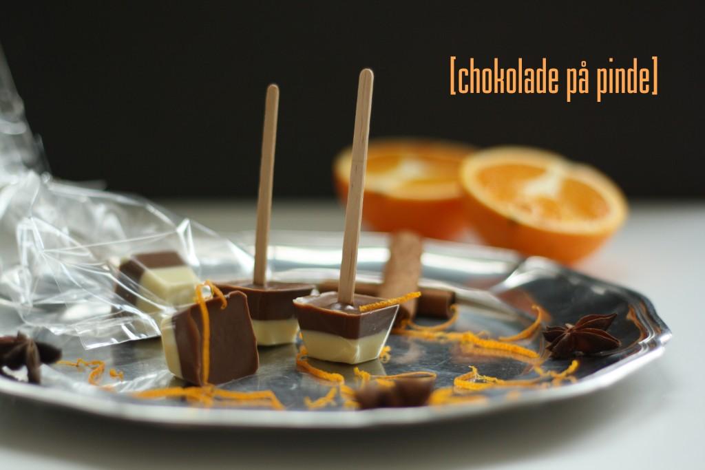 Chokolade på pind