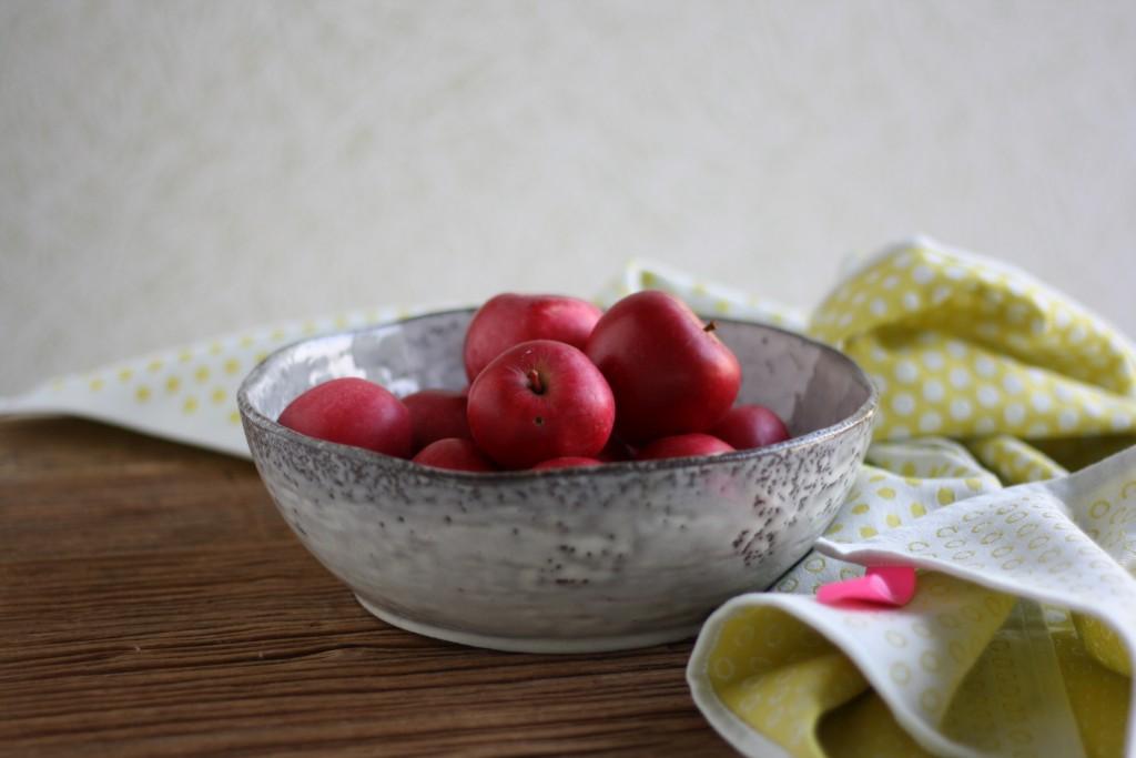 Fru Knips æbler og lys
