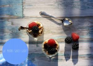 Yoghurt med honningristet müsli og bær