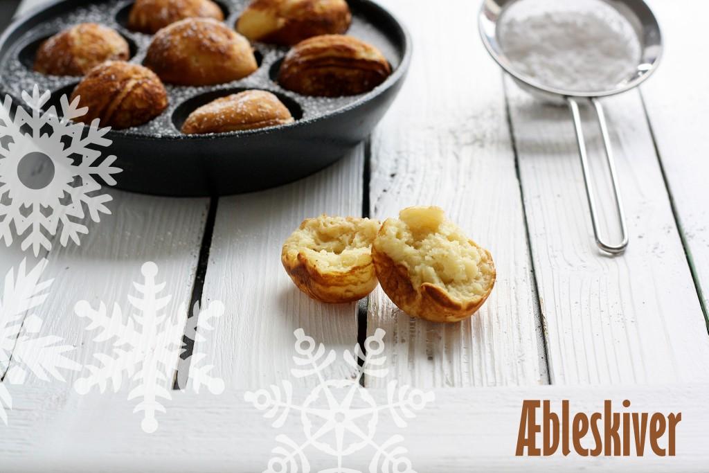 Hjemmelavede æbleskiver