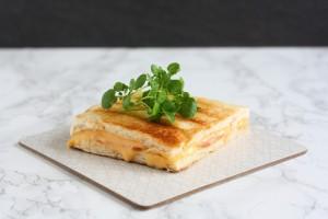 Tip til toast med ost og skinke