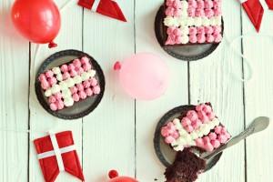 Chokoladekage til fødselsdag