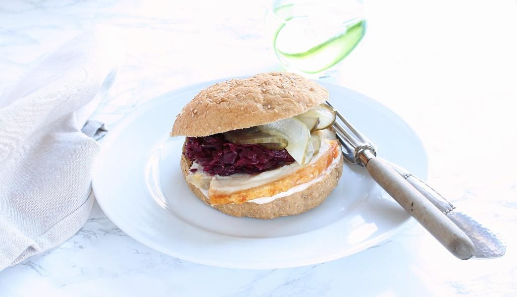 Sandwich med kamsteg